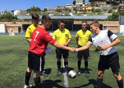 Football match start