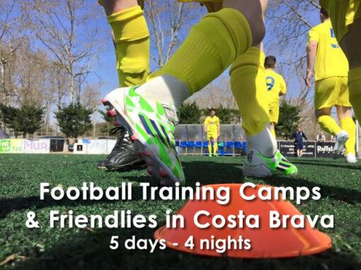 Training Camp & Friendlies in Costa Brava