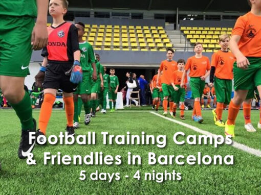 Training Camp & Friendlies in Barcelona