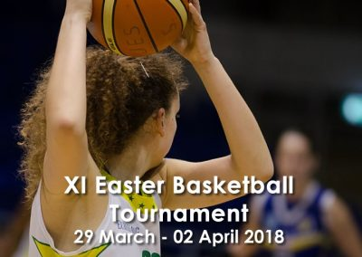 XI Easter Basketball Tournament in Costa Brava
