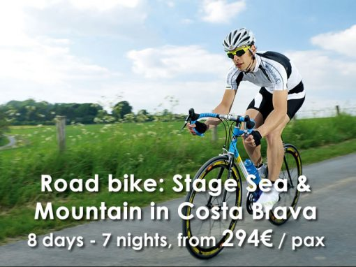 Road Bike: Stage Sea & Mountain in Costa Brava