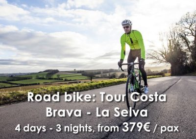 Road Bike: Tour Costa Brava – La Selva