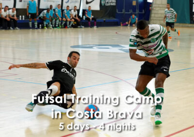 Futsal traning camp in Costa Brava