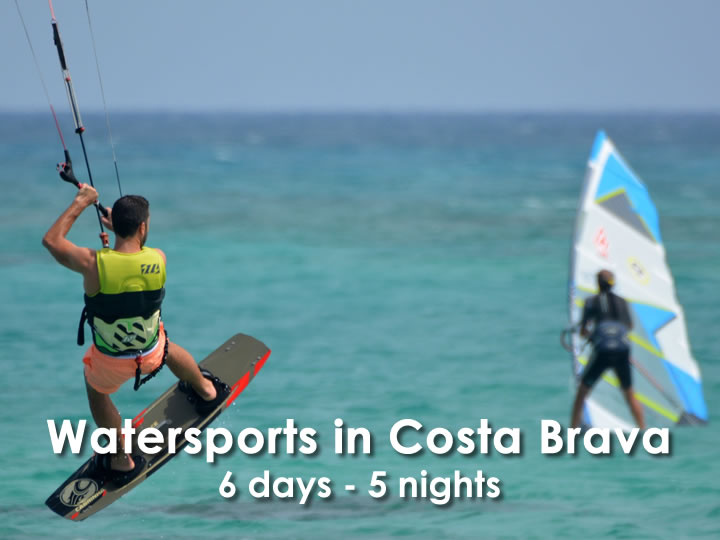 Watersports in Costa Brava