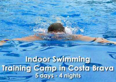 Indoor Swimming Training Camp in Costa Brava