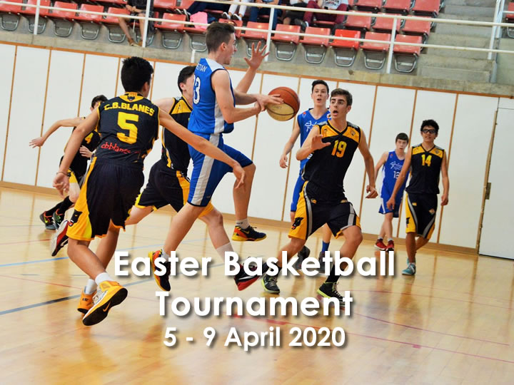 Easter Basketball Tournament 5-9 April