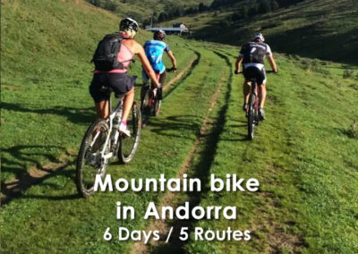 Mountain bike in Andorra