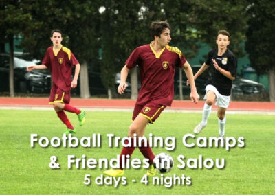 Training Camp & Friendlies in Salou